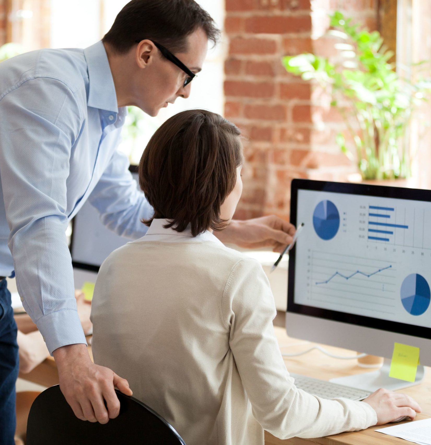 MYOB ERP Consultant assisting user
